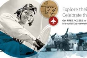 FREE ACCESS to Military Records this Memorial Day Weekend at Ancestry! Includes WWI and WWII records as well as over 100 million names across over 700 different databases. Offer expires Monday, May 29th.