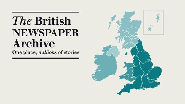 "FREE WEBINAR Making the Most of the British Newspaper Archive presented by Aoife O'Connor, Thursday, May 18th 4:00 pm BST (11:00 am Eastern) - ""The British Newspaper Archive is an essential online resource for anyone interested in researching the past. The Archive holds newspapers from all across the UK and Ireland dating from the 1700s to the 2000s. In this webinar, Aoife O Connor will show you how to get the most out of the website. Learn search tips and tricks, discover the special features of the site, and find out how historic newspapers can break down genealogical brick walls and bring the history of your hometown to life."""