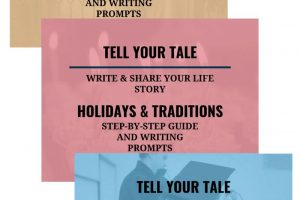Genealogy educator Thomas MacEntee reviews the Tell Your Tale e-book series by Hilarie Robison of Legacy Tale – a great way to jump start writing your life story!
