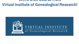 Enter the Virtual Institute of Genealogical Research Contest at Genealogy Bargains this week and you could win a DNA course and more!