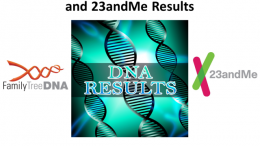 Save 30% on the Interpreting Your FTDNA and 23andMe Results digital download with DNA expert Mary Eberle - includes a hands on exercise / case study using DNA test results!