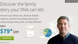 AncestryDNA has just lowered the price of its autosomal DNA test kit from $99 to $79 PLUS you can get each additional kit for just $69.
