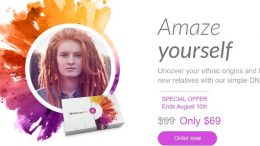 MyHeritage DNA test kit just $69 - save 30%! This is an amazing deal and I just got my DNA test results back from MyHeritage - I'll be posting a review later this week. This is the same type of autosomal test that 23andMe, Family Tree DNA and AncestryDNA all offer! This offer is good through August 10th