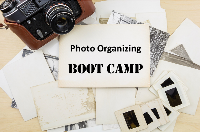 Save 50% on Photo Organizing Boot Camp digital download