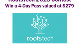 Want to learn the latest on genealogy and technology? Enter the RootsTech 2018 Contest at Genealogy Bargains and you could win a 4-Day Pass valued at $279! Click HERE for more information about RootsTech 2018.