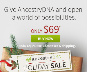 Are there any genealogy items still on sale after Cyber Monday? YOU BET! More savings at the Genealogy Bargains list for Tuesday, November 28, 2017