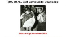 50% of ALL Boot Camps at Hack Genealogy