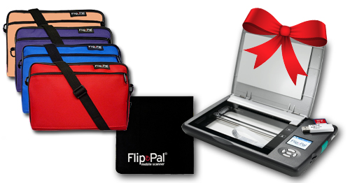 Dear Santa: I want the Flip-Pal Holiday Value Pack  . . . Save $25 plus FREE SHIPPING!