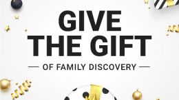 The Family Tree DNA Holiday Sale is still going on right through December 31st, 2017 - a perfect time to give the gift of family discovery this holiday season.