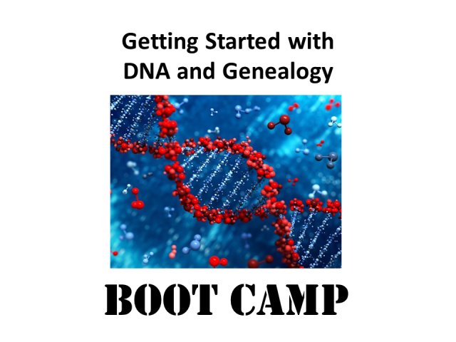 Learn more about DNA! The Getting Started with DNA and Genealogy digital download with DNA expert Mary Eberle is now available at DNA Bargains.