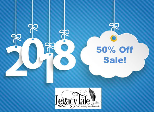 Save 50% on ALL products at Legacy Tale including the popular Tell Your Tale E-Book Series! If one of your New Year's resolutions is to preserve family stories and create family history photo books - then don't miss this sale!