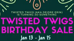 Birthday Sale on Military Records at Twisted Twigs Genealogy! Amazing savings on military records and pensions from the National Archives - Twisted Twigs charges less than NARA and their turnaround/delivery timeline is much faster as well!  Help celebrate Twisted Twigs' founder Deidre's birthday!