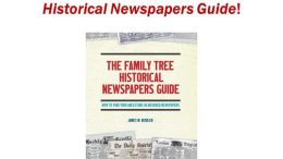 Win a copy of The Family Tree Historical Newspapers Guide from in our latest giveaway at Genealogy Bargains - a great resource for genealogy and family history!