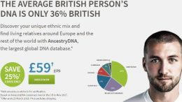 Special AncestryDNA UK Flash Sale - Save 25%! Ancestry has just announced a March Flash Sale for Ancestry DNA - regularly £79, now just £59!