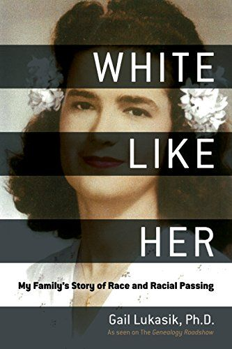"Amazon: Save 91% on best-selling book White Like Her: My Family's Story of Race and Racial Passing by Gail Lukasik with foreword by Kenyatta Berry. ""White Like Her: My Family's Story of Race and Racial Passing is the story of Gail Lukasik's mother's ""passing,"" Gail's struggle with the shame of her mother's choice, and her subsequent journey of self-discovery and redemption. In the historical context of the Jim Crow South, Gail explores her mother's decision to pass, how she hid her secret even from her own husband, and the price she paid for choosing whiteness. Haunted by her mother's fear and shame, Gail embarks on a quest to uncover her mother's racial lineage, tracing her family back to eighteenth-century colonial Louisiana. In coming to terms with her decision to publicly out her mother, Gail changed how she looks at race and heritage."" Regularly $22.99 print, now just $1.99 for Amazon Kindle version!"