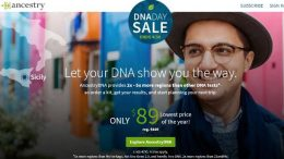 The DNA Day Sale comes to the Canada! Save 30% on AncestryDNA – regularly $129 CAD, now just $89 CAD! Expires April 30th - don't miss this sale! Get all the details at Genealogy Bargains !