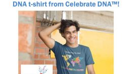 Win a FREE CUSTOMIZED Celebrate My DNA World Map t-shirt from Celebrate DNA