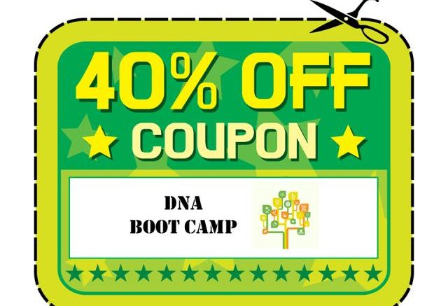 Save 40% on ALL DNA Boot Camp digital downloads during the Hack Genealogy Summer Sale now through June 30th!