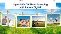 Day 7 of the 12 Days of Genealogy Christmas in July - save up to 50% on photo scanning at Larsen Digital! Finally get your family photos digitized and protected!