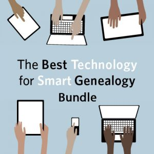 The Best Technology for Smart Genealogy Bundle: This bundle contains eight video presentations designed to help you find new resources and collections online as well as organize, preserve and share your research in creative, fun ways. By the time you've watched all of the videos, your fingers will be flying over the keyboard and you'll be able to share your new discoveries online with a few clicks.