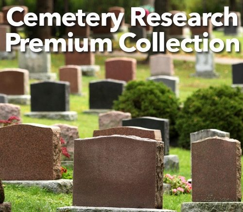 Save 71% on Cemetery Research Premium Collection from Family Tree Magazine.  Learn the steps of searching and analyzing ancestors' graves. Learn how to keep track of your research, the best websites for cemetery research, surprising places to find death details, and much more.