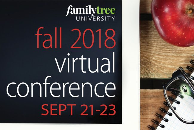 Save $40 USD on Fall 2018 Virtual Conference registration at Family Tree Magazine! Get the latest deals at Genealogy Bargains today, Friday, July 27, 2018!