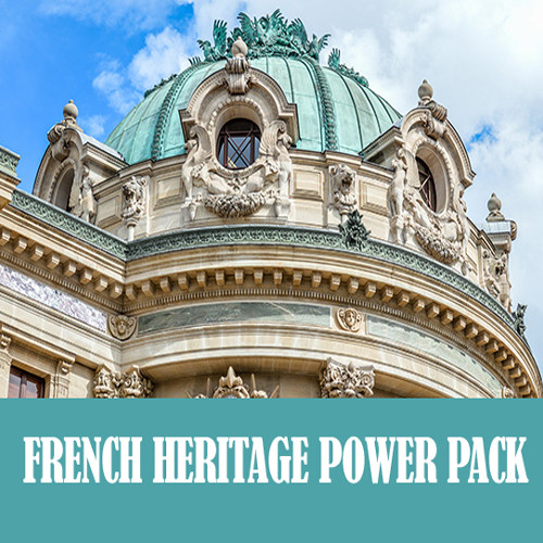 "Save 73% on French Heritage Power Pack from Family Tree Magazine! ""This collection is packed with 7 resources for tracking down French ancestry. You will learn how to track down genealogical records from the comfort of home, French naming patterns and traditions, overviews of the area's history, tips to overcome the language barrier, and much more! Get this collection today and discover your French ancestry!"""
