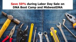 Put your DNA results to WORK! Labor Day Sale on DNA Boot Camp and Midwest DNA digital downloads - save up to 50% this weekend at Hack Genealogy!
