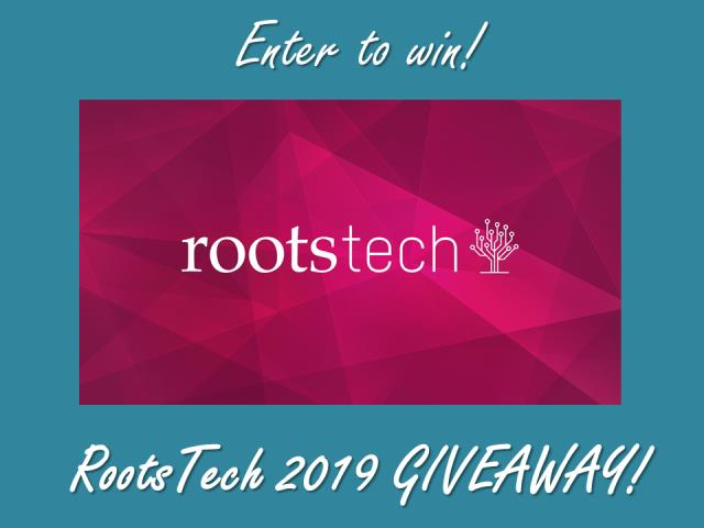 Win a 4-Day Pass to RootsTech 2019 valued at $299 USD! Genealogy Bargains has a way for you to go to RootsTech 2019 for FREE!* Enter the RootsTech 2019 Contest at Genealogy Bargains and you could win a 4-Day Pass to RootsTech 2019 in Salt Lake City, Utah, February 27 to March 2, 2019, valued at $299 USD!