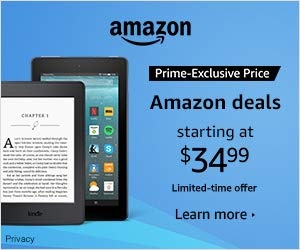 HUGE SALE on Amazon Kindle and Amazon Fire Devices - as low as $34.99 USD! Deals, sales, and special offers on Echo & Alexa devices, Fire tablets, Fire TV, Kindles, Amazon Security Cameras, Dash Buttons, and more.