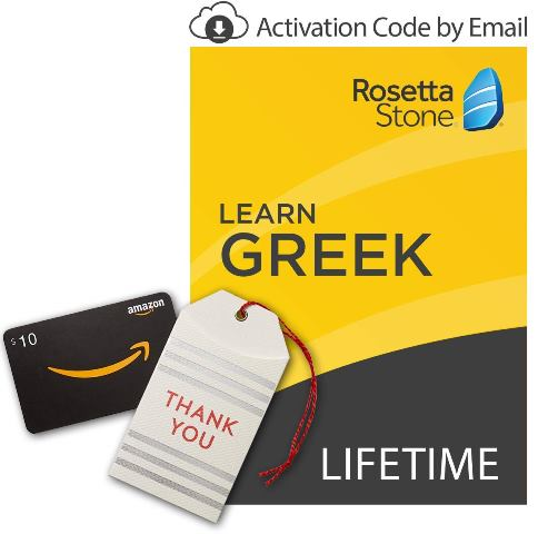 "The Deal of the Day at Amazon has the NEW ""Lifetime Access"" at Rosetta Stone for 40% off! A great time to learn the language of your ancestors!"