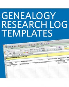 Genealogy Research Log Templates (DIGITAL DOWNLOAD): Avoid duplicating work and wasting precious genealogy time with these research log templates! The four spreadsheets are fully customizable and can be uploaded to Google Drive so you can access your log anytime, anywhere.