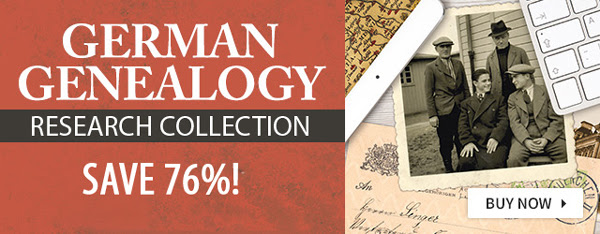 Save 76% on German Genealogy Research Collection during Oktoberfest Sale at Family Tree Magazine!