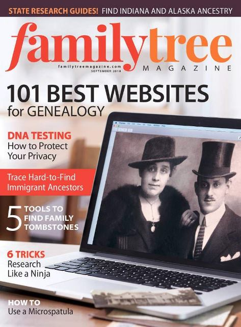 Save up to 57% on Family Tree Magazine - America's #1 Genealogy Magazine!