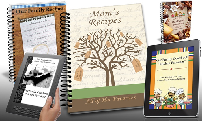 Save up to 87% on Family Cookbook Project software and cookbooks!
