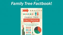 Win a copy of Family Tree Factbook: Key Genealogy Tips and Stats for the Busy Researcher in our latest giveaway at Genealogy Bargains - a great collection of genealogy hacks for family historians!