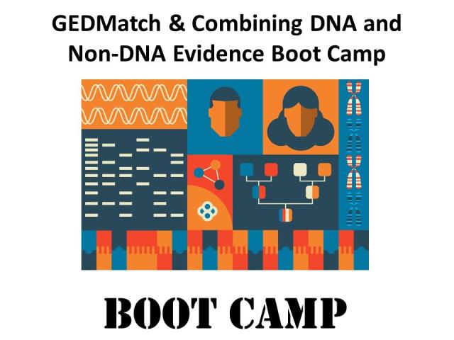 Save 30%GEDMatch & Combining DNA and Non-DNA Evidence Boot Camp! Join DNA expert Mary Eberle of DNA Huntersshares her tricks and tips on using the popular (and FREE) GEDmatch program, AND walks you through a case study focusing on combining DNA and non-DNA evidence. Mary will also answer your questions live during the online webinars.