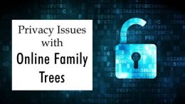 FREE RECORDING Privacy Issues with Online Family Trees presented by E. Randol Schoenberg - what you need to know about Ancestry.com and other popular sites!