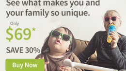 See what makes you and your family so unique! AncestryDNA Family History Month Sale - save 30% and pay just $69 USD! Get the deal at Genealogy Bargains!