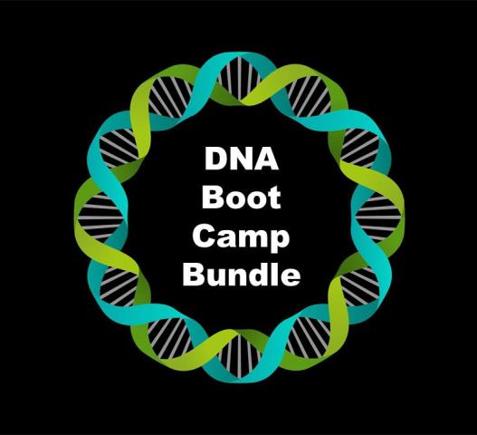 Get the ENTIRE series of DNA Boot Camp webinars with DNA expert Mary Eberle and moderated by Thomas MacEntee for one low price and save 36%!