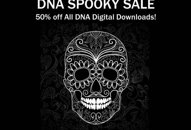 Now through Halloween, save 50% on all DNA Boot Camp and Midwestern DNA digital downloads during the Spooky Sale at Hack Genealogy!