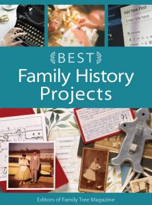 Best Family History Projects eBook: These simple family history projects will help you use your research in new and exciting ways, with practical tips and strategies for publishing your genealogy in a report or blog, printing decorative family trees, saving your research in the cloud and more. You can also get the whole family excited about ancestry with this eBook's family-friendly genealogy projects for kids.