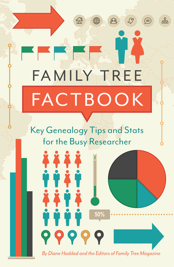 Family Tree Factbook: This convenient, timesaving collection of genealogy hacks gathers the best resources, tips, lists and need-to-know facts from the experts at Family Tree Magazine. Inside, you'll find fast facts about a variety of family history topics, such as important dates in US history, the different kinds of DNA tests, and how to use the best genealogy websites.