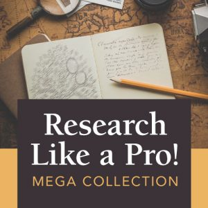 Ten Expert Genealogy Resources for One Low Price! Research Like a Pro MEGA Collection from Family Tree Magazine - save 71% today at Genealogy Bargains!
