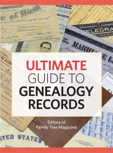 Ultimate Guide to Genealogy Records eBook: Discover the best genealogy records using the tips and strategies in this guide, which shows you how to find and use census records, birth records, marriage records and more. With this detailed ebook, you can search for your family tree and ancestry records with ease.