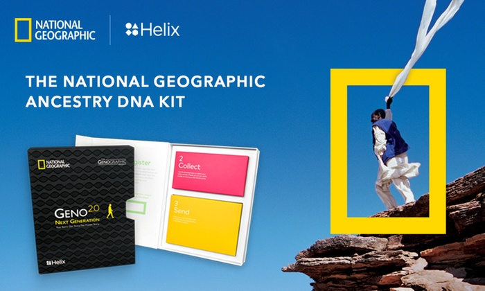 Save 35% on Helix DNA Test - National Geographic! National Geographic Geno 2.0 is an ancestry DNA test that helps you discover the migration paths your ancient ancestors followed and learn the details of your deep ancestral makeup.