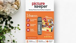 Picture Keeper is an amazing device that looks like a simple USB flash drive but it is so much more. Yes, you could buy a cheap flash drive and take the DIY approach but Picture Keeper has an automated system of making sure ALL of your photos are backed up!