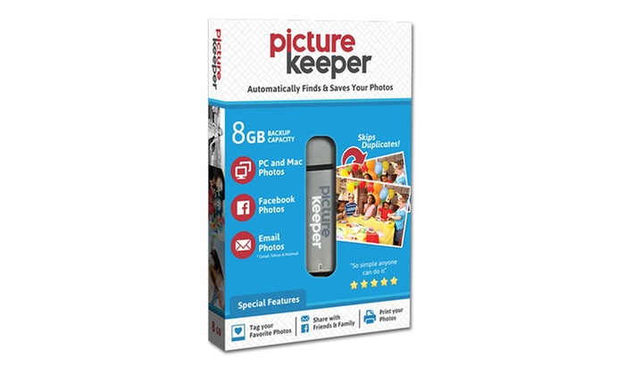 Save up to 67% on Picture Keeper 8GB USB Photo Backup