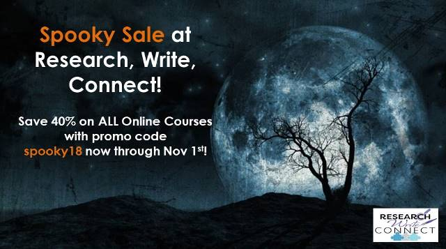 SCARED of writing family stories? Learn how to create amazing family tales with your genealogy research! Save 40% on ALL Online Courses with Lisa Alzo!