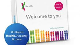 TODAY ONLY! Amazon: Save 50% on 23andMe DNA Test Health + Ancestry Service, regularly $199.99 USD, now just $99.99 USD